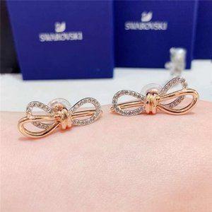 💧SWAROVSKI LIFELONG BOW bow earrings